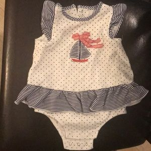 Little me dress 6 months. Used great condition